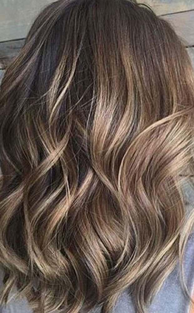 Meches Highlights Bronde Vogue Coiffure W 228 Denswil