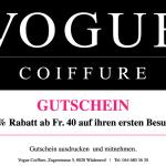 Vogue Coiffure 10% Gutschein